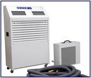 Broughton MCWS250 Industrial High Output Portable Air Conditioning 7.3kw / 25000 Btu 110V/240V~50Hz